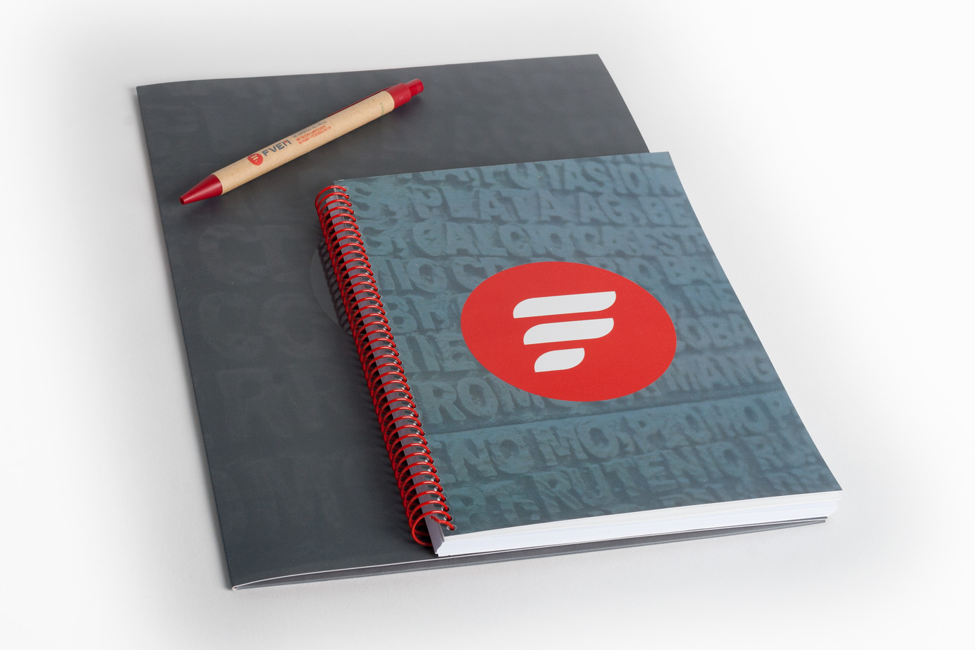 Cuaderno, Carpeta y Bolígrafo FVEM