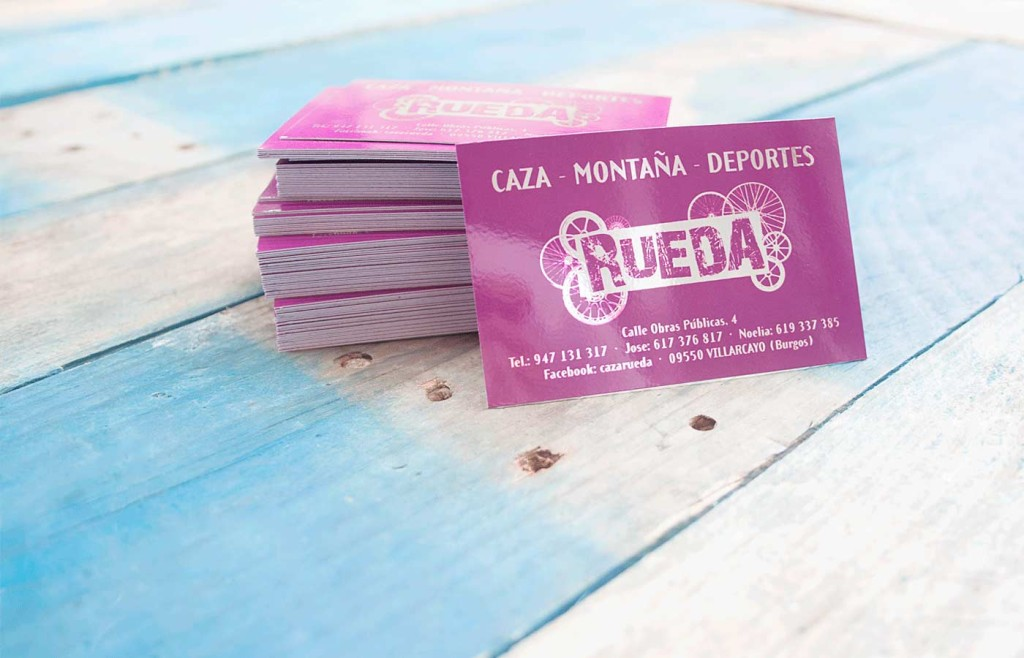 Rueda tarjeta