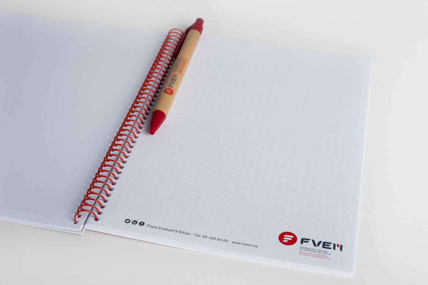Cuaderno Papelería FVEM